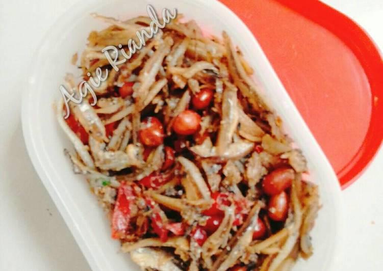 Resep Teri Kacang Goreng