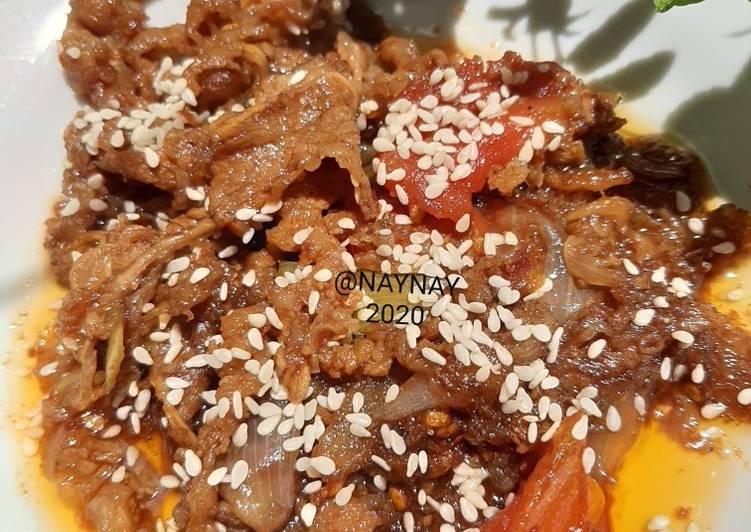 Resep Beef Yakiniku