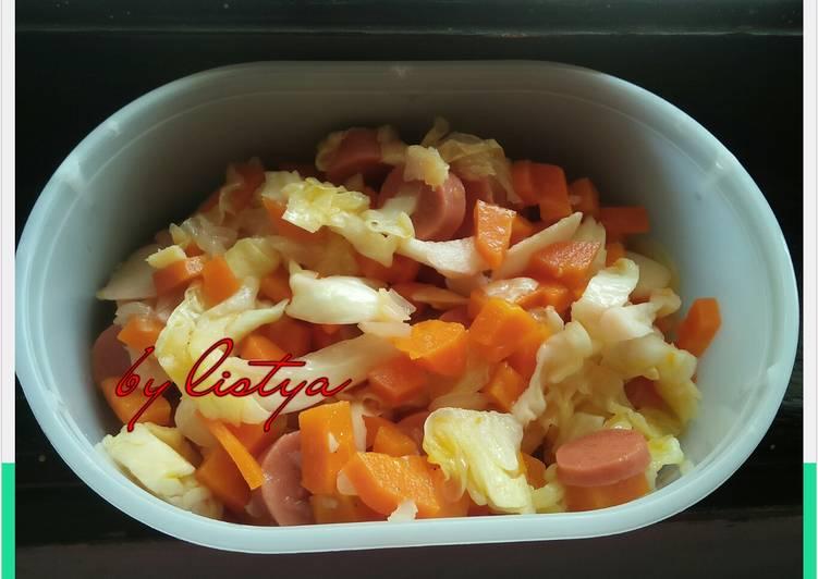 Resep Oseng wortel