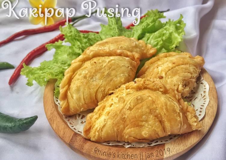 Resep Karipap pusing