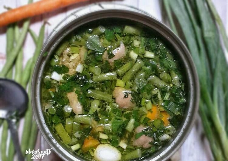 Resep Sop Kulit Ayam (diet: debm keto)
