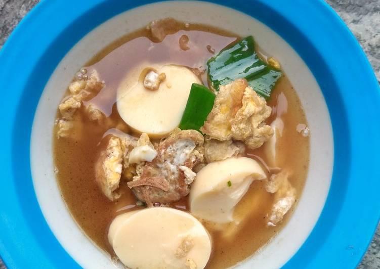 Resep Sup telur dadar