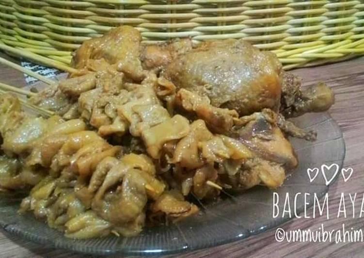 Resep Bacem Ayam