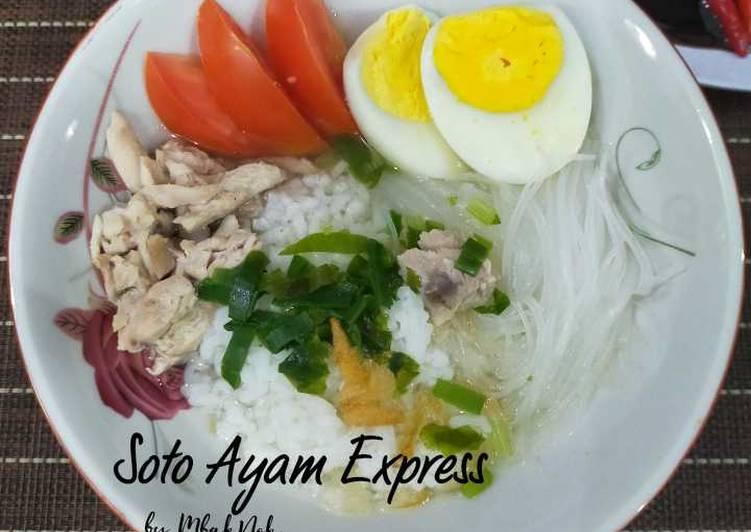 Resep Soto Ayam Ekspress