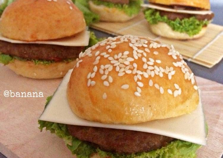 Resep Beef burger