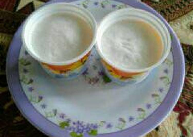 Resep Ice cream vanila