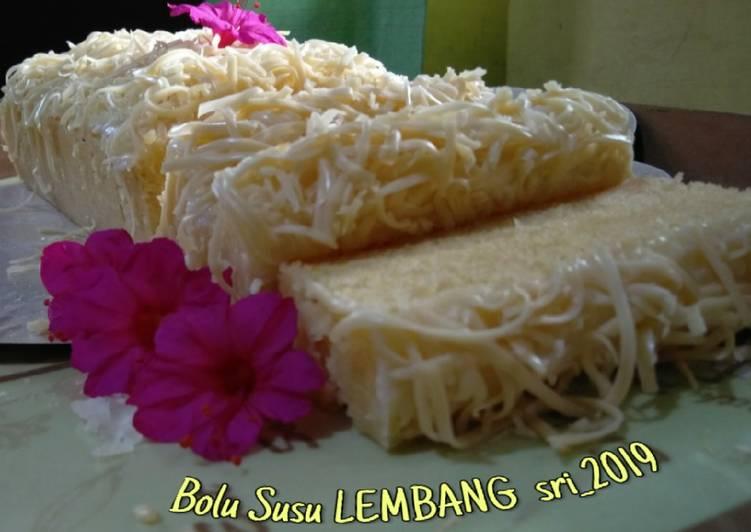 Resep Bolu Susu Lembang