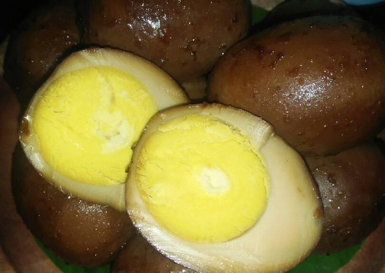 Resep Telur Bacem