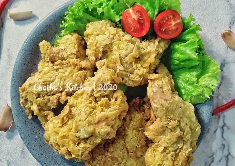 Resep Chieput Fried Chicken (Ayam Keriting)