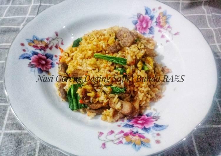 Resep Nasi Goreng Daging Sapi