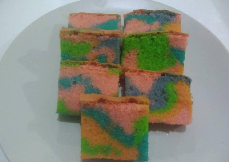 Resep Ogura unicorn cake