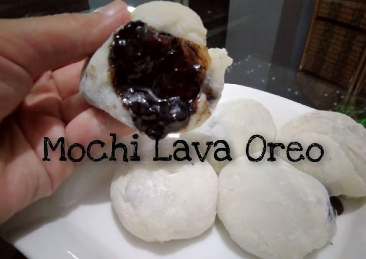 Resep Mochi Lava Oreo