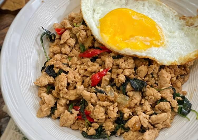 Resep Pad Gaprao masakan Thai ala Tiger Kitchen