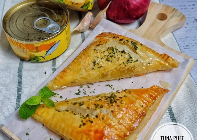 Resep Tuna puff pastry
