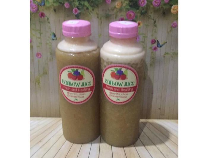 Resep Diet Juice Pomelo Pineapple Tomato Broccoli
