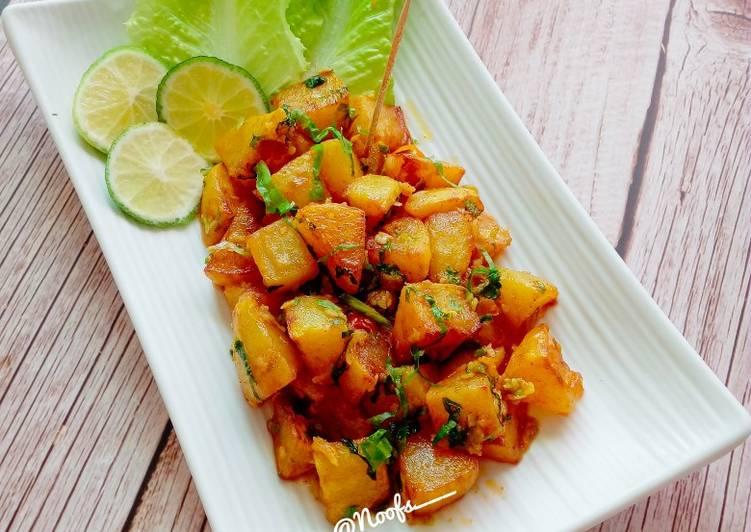 Resep Batata Harra (Lebanese Spicy Potato)
