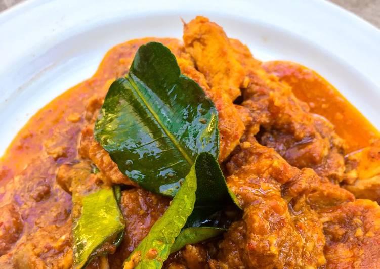 Resep Ayam Bumbu Rujak (Tanpa Santan)