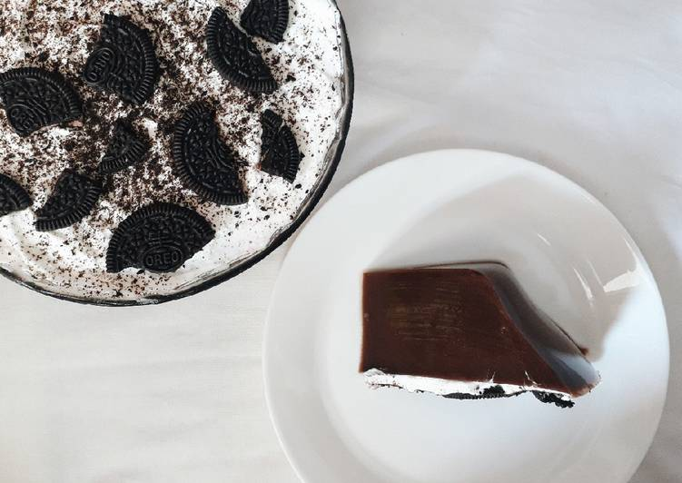 Resep Chocolate Oreo Pudding