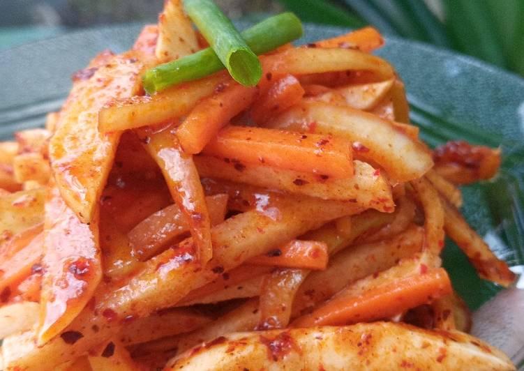 Resep Fresh Kimchi