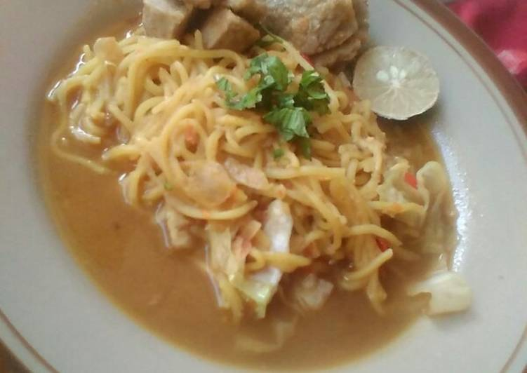 Resep 1Mie Aceh Kuah