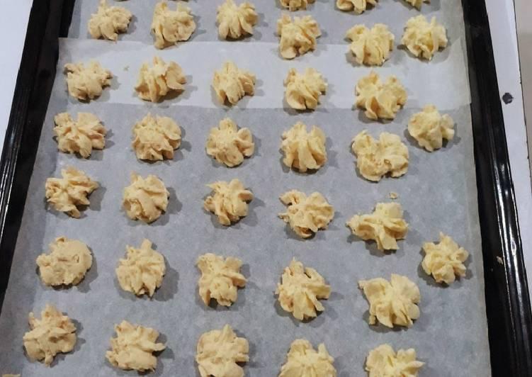 Resep Cookies Sagu Keju