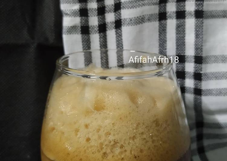 Resep Ice Frappe Coffe