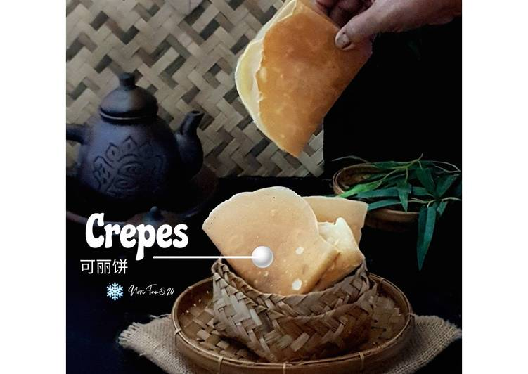 Resep 2Crepes Renyah | Leker |