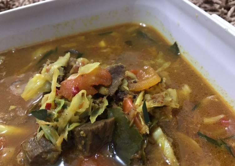 Resep Tongseng Daging Sapi tanpa santan