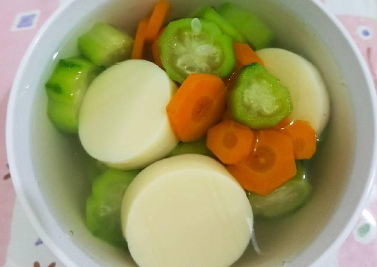 Resep Kuah Oyong Tofu