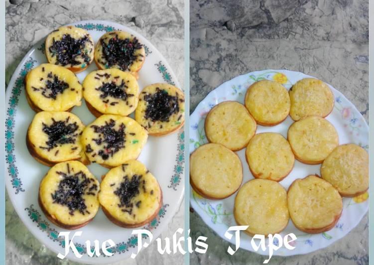 Resep Kue Pukis Tape 2 Telur,1 Putih Telur_Cetakan Kue Lumpur_No Mixer