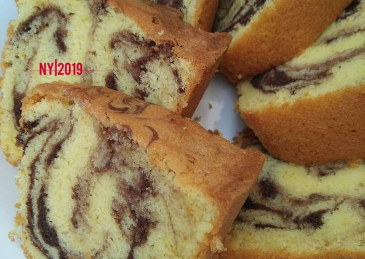 Resep Marmer cake law thomaz