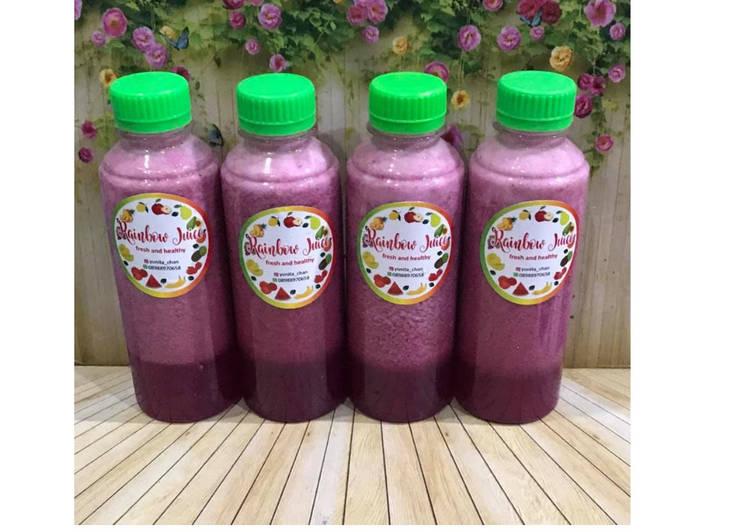 Resep Diet Juice Dragon Fruit Pineapple Star Fruit Lettuce