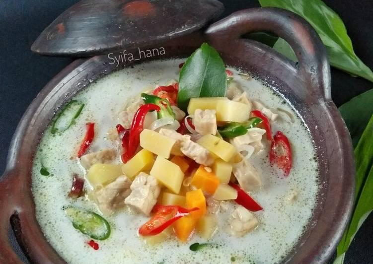 Resep Jangan (Sayur) Lombok Kentang Tempe