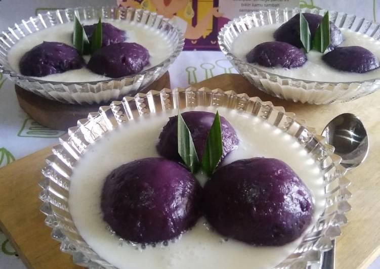 Resep Kue Putri Mandi Ubi Ungu