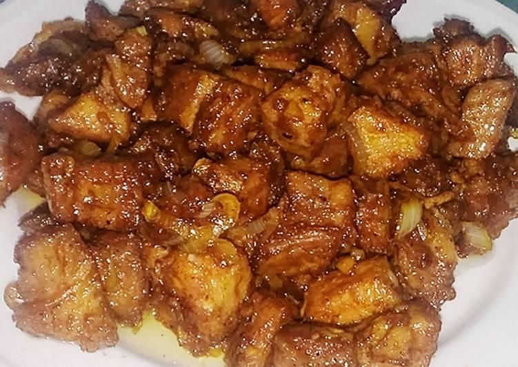 Resep Ginger Beef Saus Tiram