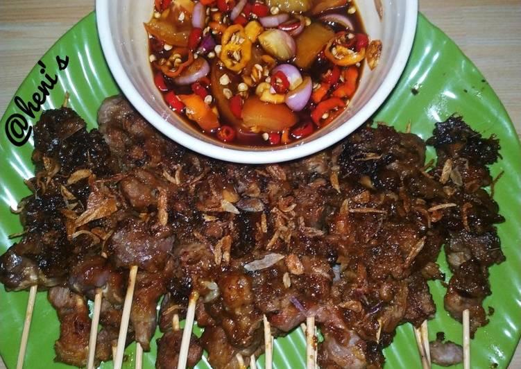 Resep Sate Kambing (supeerrr empuukk)