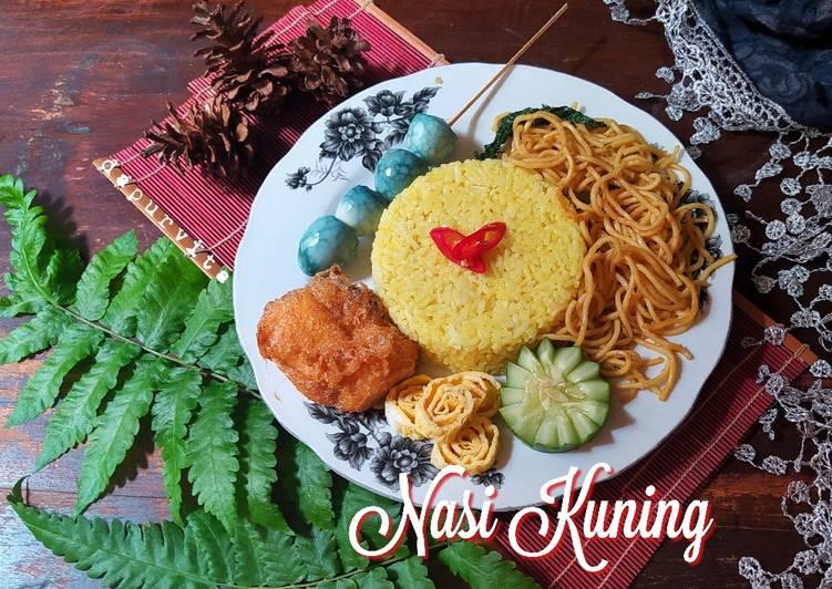 Resep Nasi Kuning (Magic Com)