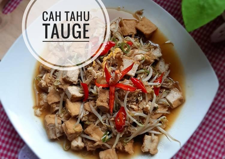 Resep Cah Tahu Taoge