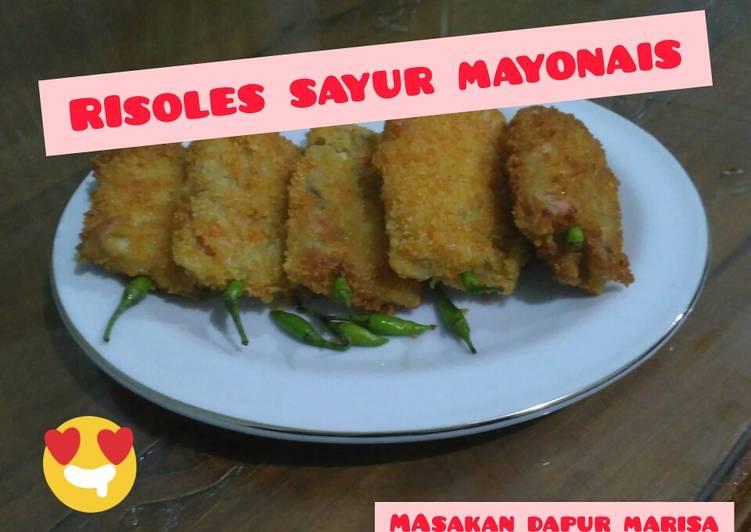 Resep Risoles sayur mayonais