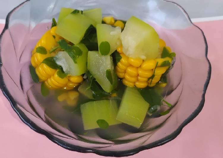 Resep Sayur Bening Kelor Labu Air