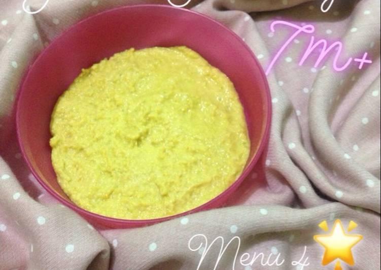 Resep Yellow porridge