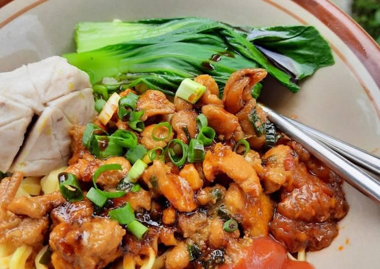 Resep Mi Ayam Kuah Bening