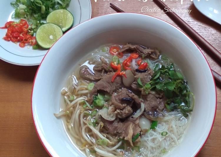 Resep Vietnamese Beef Pho