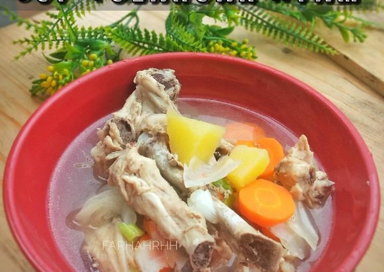 Resep Sop Tulangan Ayam