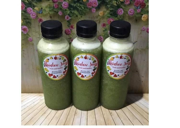 Resep Diet Juice Timun Suri Spinach Pineapple Orange
