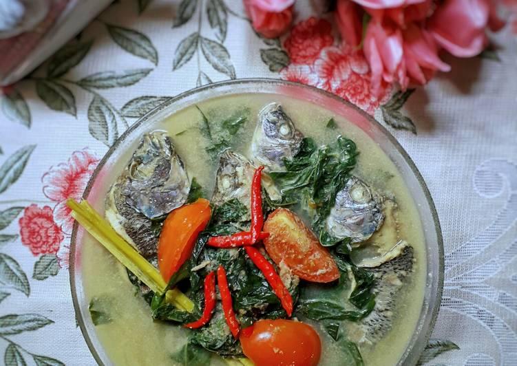 Resep Gulai Ikan Nila & Daun Singkong