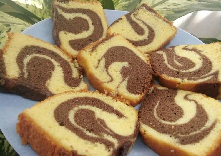 Resep Marmer cake ekonomis