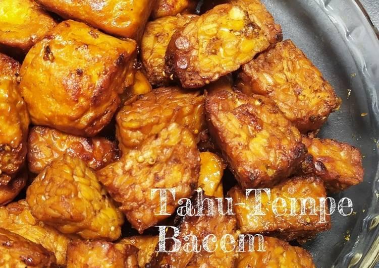 Resep Tahu-Tempe Bacem