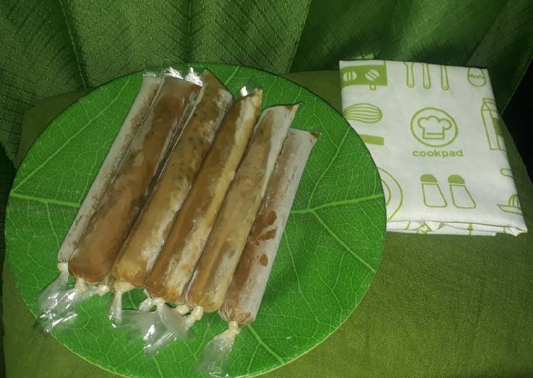 Resep Es bubur kacang hijau