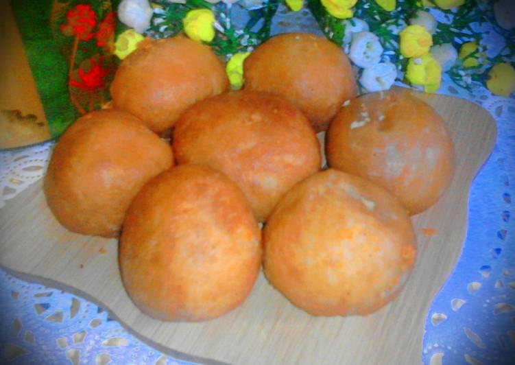 Resep Roti Goreng isi Kacang Hijau